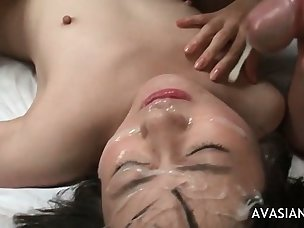 Hot Cum on Face Porn Videos