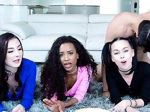 Hot Foursome Porn Videos