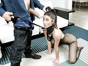 Hot Fishnet Porn Videos